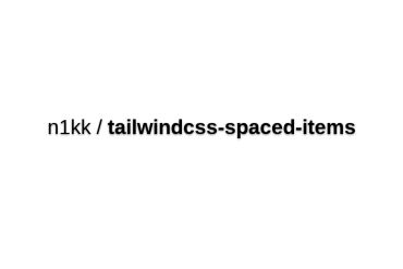 Spaced Items
