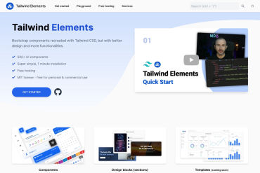 Tailwind Elements