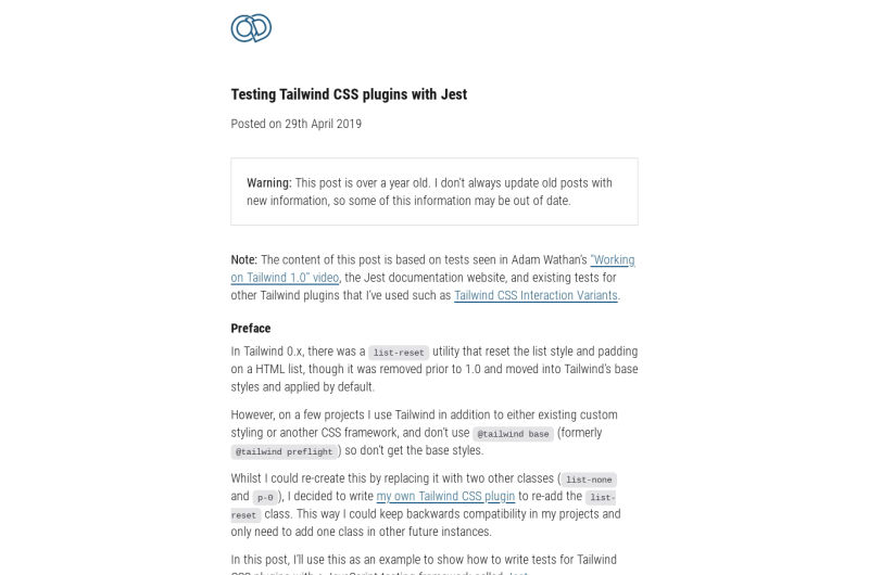 Testing Tailwind CSS Plugins With Jest