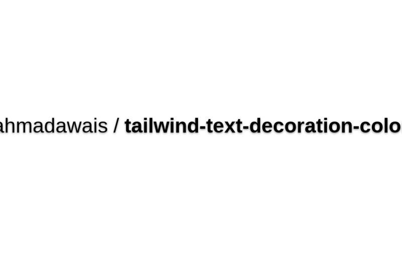Text Decoration Color