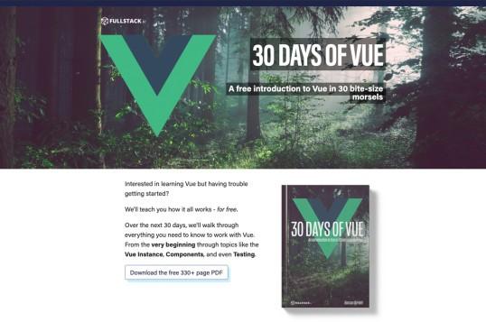 30 Days of Vue