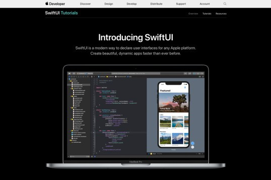 Apple SwiftUI Tutorials