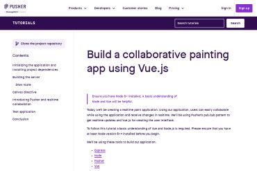Build A Collaborative Painting App Using Vue.js