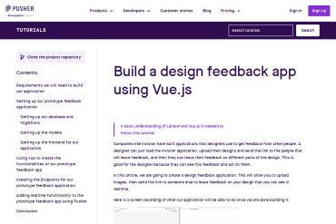 Build A Design Feedback App Using Vue.js