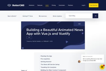 Building A Beautiful Animated News App With Vue.js And Vuetify