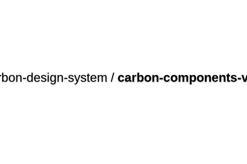 @Carbon/vue
