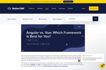 Comparing Angular Vs Vue