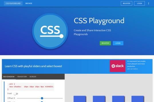CSS Playground