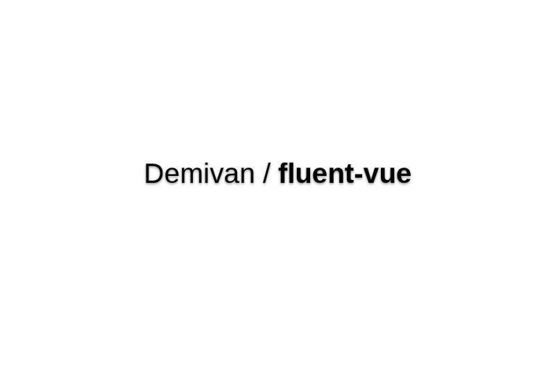 Fluent-vue
