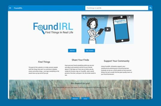 FoundIRL