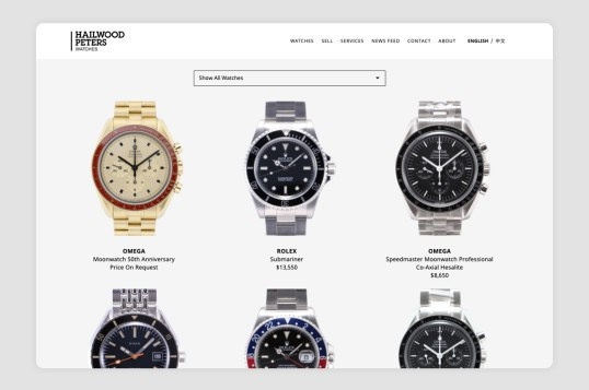 Hailwood Peters Watches