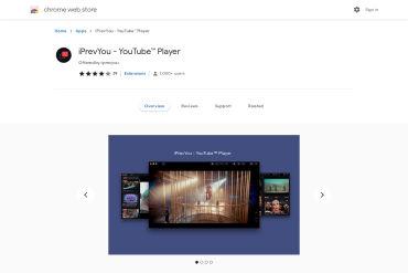 IPrevYou - YouTube™ Player