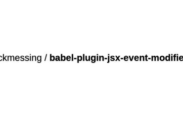 Jsx-event-modifiers