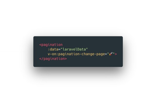 Laravel Vue Pagination