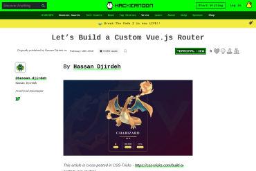 Let's Build A Custom Vue.js Router