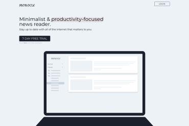 Monocle Reader