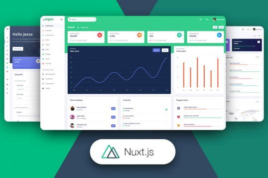 Nuxt Argon Dashboard Pro