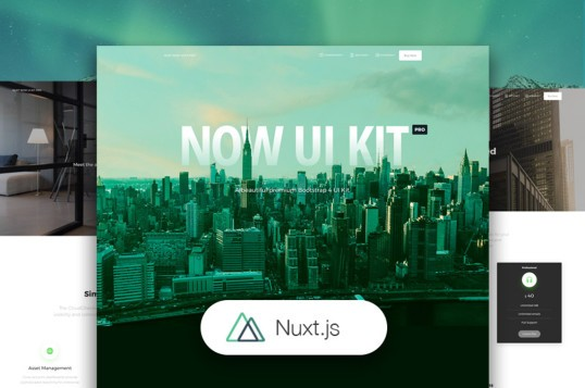Nuxt Now UI Kit PRO