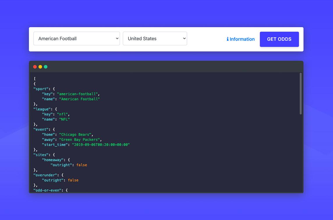 Sport Data API