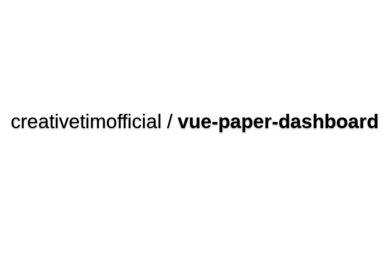 Paper-Dashboard