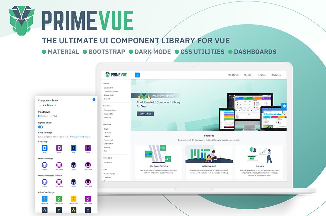 PrimeVue