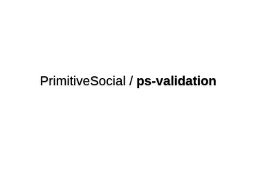 Ps-validation