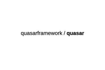 Quasar-framework