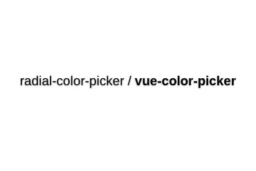 Radial-color-picker