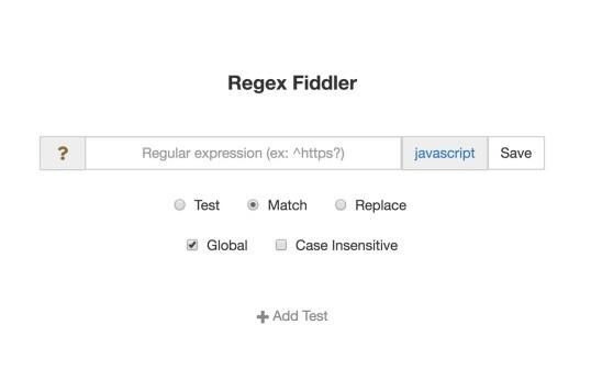 RegexFiddler