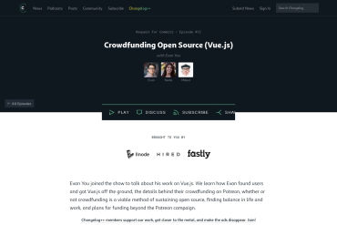 Request For Commits #12 - Crowdfunding Open Source (Vue.js) (06-15-2017)