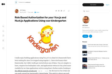 Role Based Authorization For Your Vue.js And Nuxt.js Applications Using Vue-kindergarten