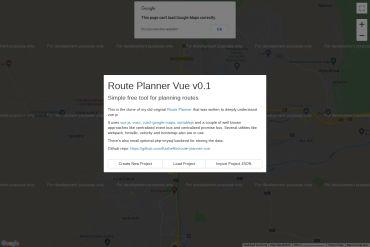 Route-planner-vue