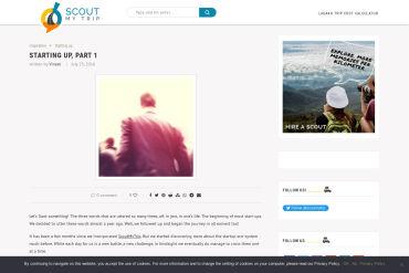 ScoutMyTrip - Roadtrip Planner