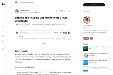 Sharing And Re-using Vue Mixins In The Cloud With Bit.dev