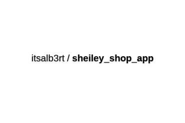 Sheiley Shop