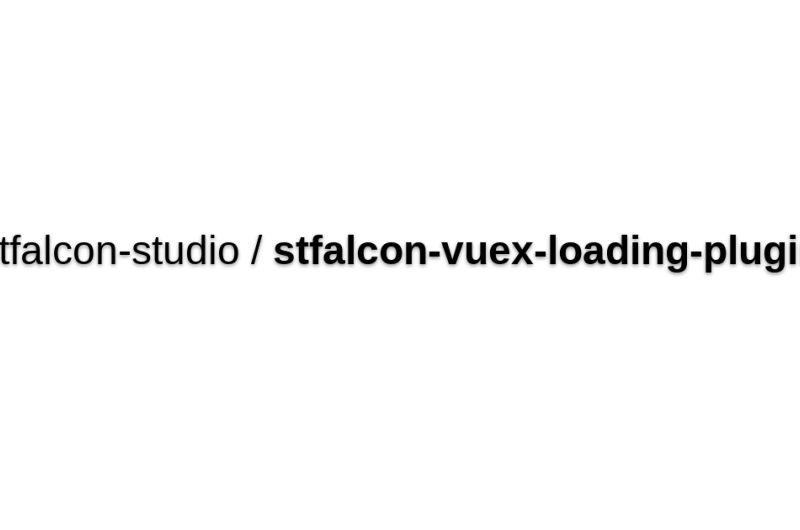Stfalcon-vuex-loading-plugin