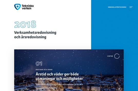 Tekniska verken annual report 2018