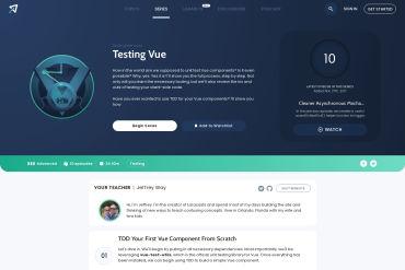 Testing Vue Components