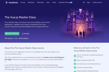 The Vue.js Master Class