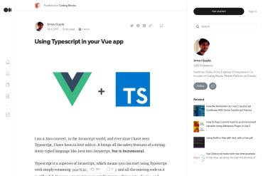 Using Typescript In Your VueJS App