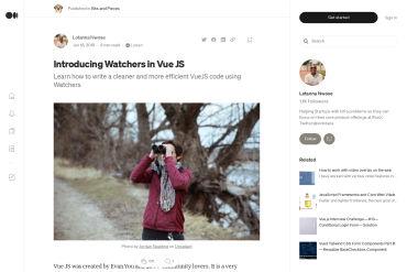 Using Watchers In Vue JS