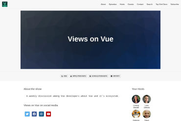 Views On Vue (weekly Podcast On Vue Started 03-06-2018)