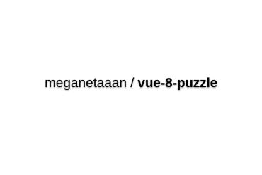 Vue-8-puzzle