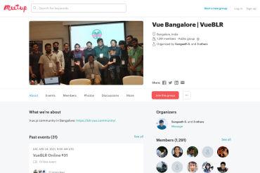 VueBLR - Meetup