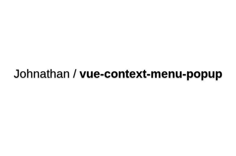 Vue-context-menu-popup
