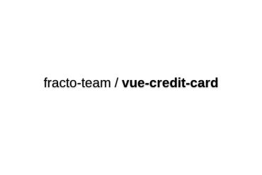 Vue-credit-card