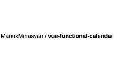 Vue-functional-calendar