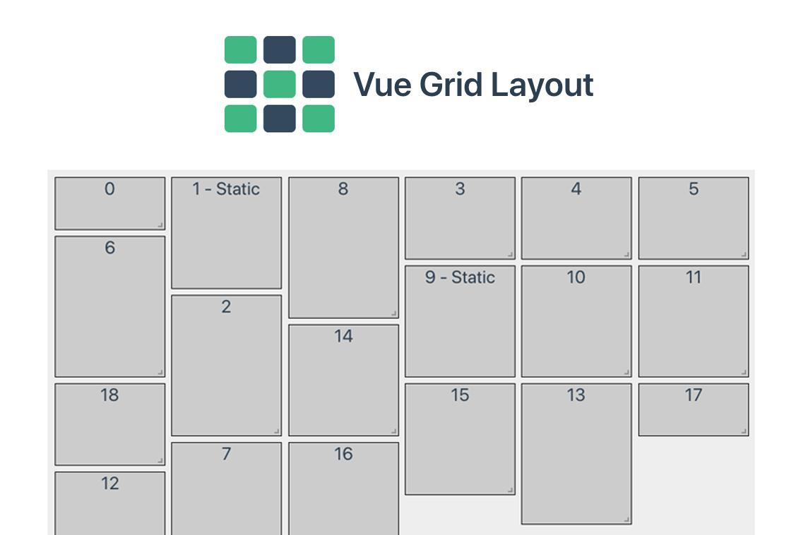 Vue Grid Layout