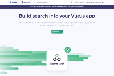 Vue-instantsearch