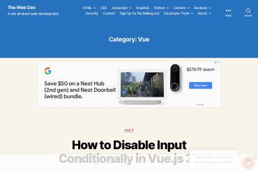 Vue.js Articles